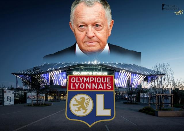 Jean Michel Aulas, Lyon's main man
