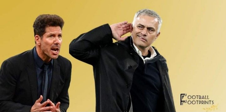 Simeone and Mourinho
